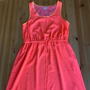 Gap Bright Pink Mid Length Dress